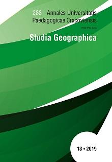 Annales Universitatis Paedagogicae Cracoviensis Studia Geographica
